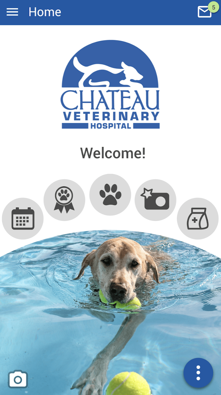 Pet App and Loyalty Program - Chateau Veterinary Hospital